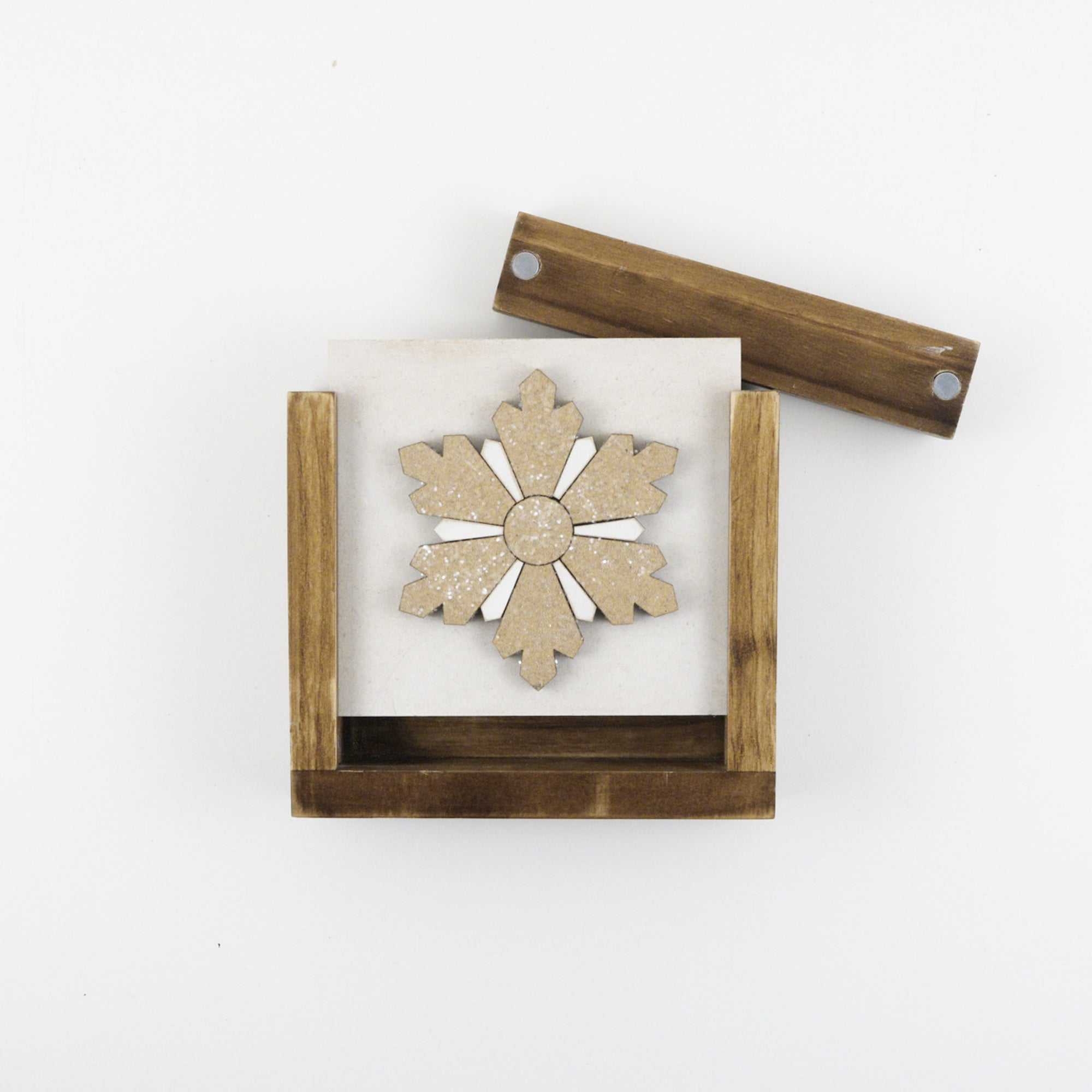 Pieced Snowflake | DIY Insert Kit | Size A
