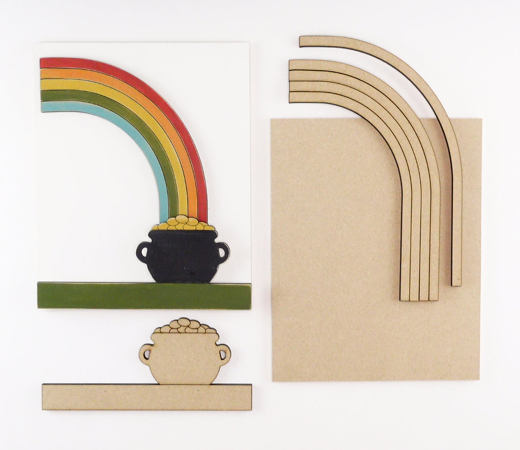 Pot of Gold | DIY Insert Kit | 8x10 (Size B)