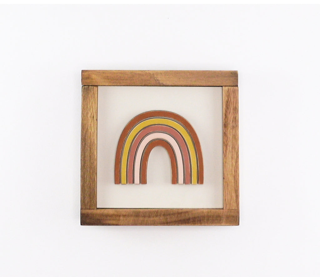 Rainbow | DIY Insert Kit | 6x6 (Size A)