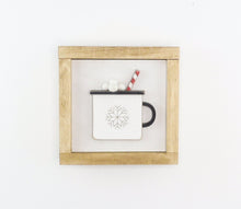Load image into Gallery viewer, Snowflake Mug | DIY Insert Kit | 6x6 (Size A)
