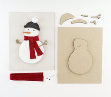 Load image into Gallery viewer, Snowman | DIY Insert Kit | 8x10 (Size B)