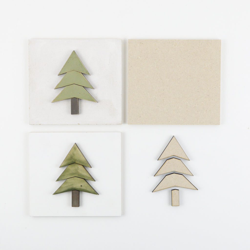 Stacked Tree | DIY Insert Kit | Size A