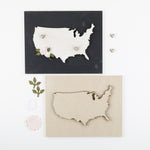 USA Map | DIY Insert Kit | Size B