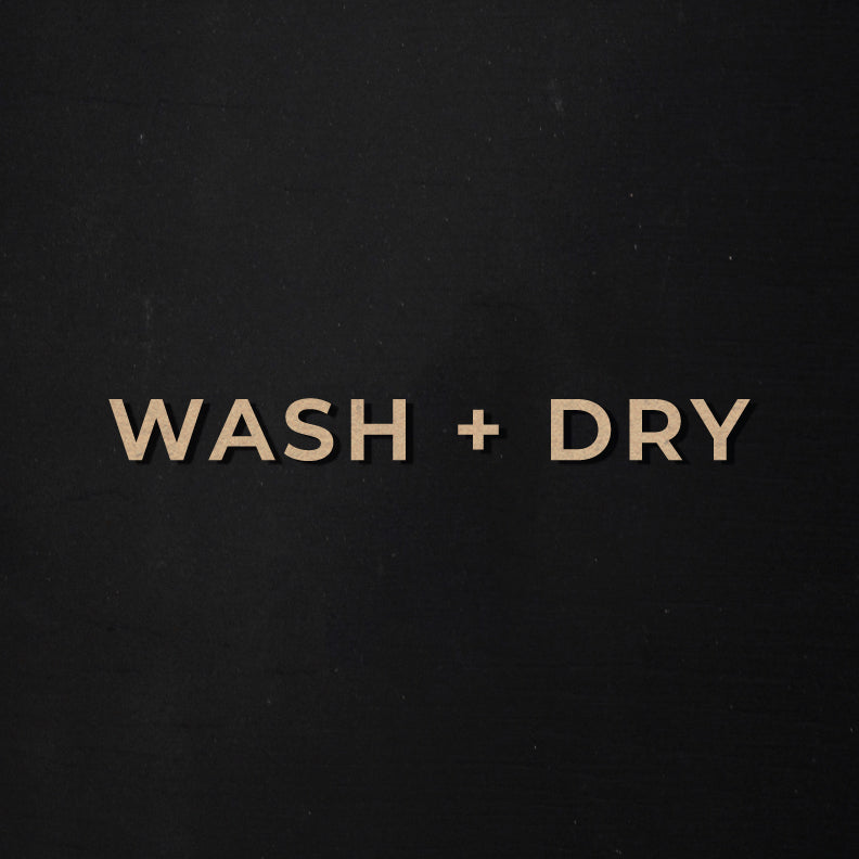 Wash + Dry | Word Kit