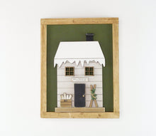 Load image into Gallery viewer, Winter Cottage | DIY Insert Kit | 8x10 (Size B)