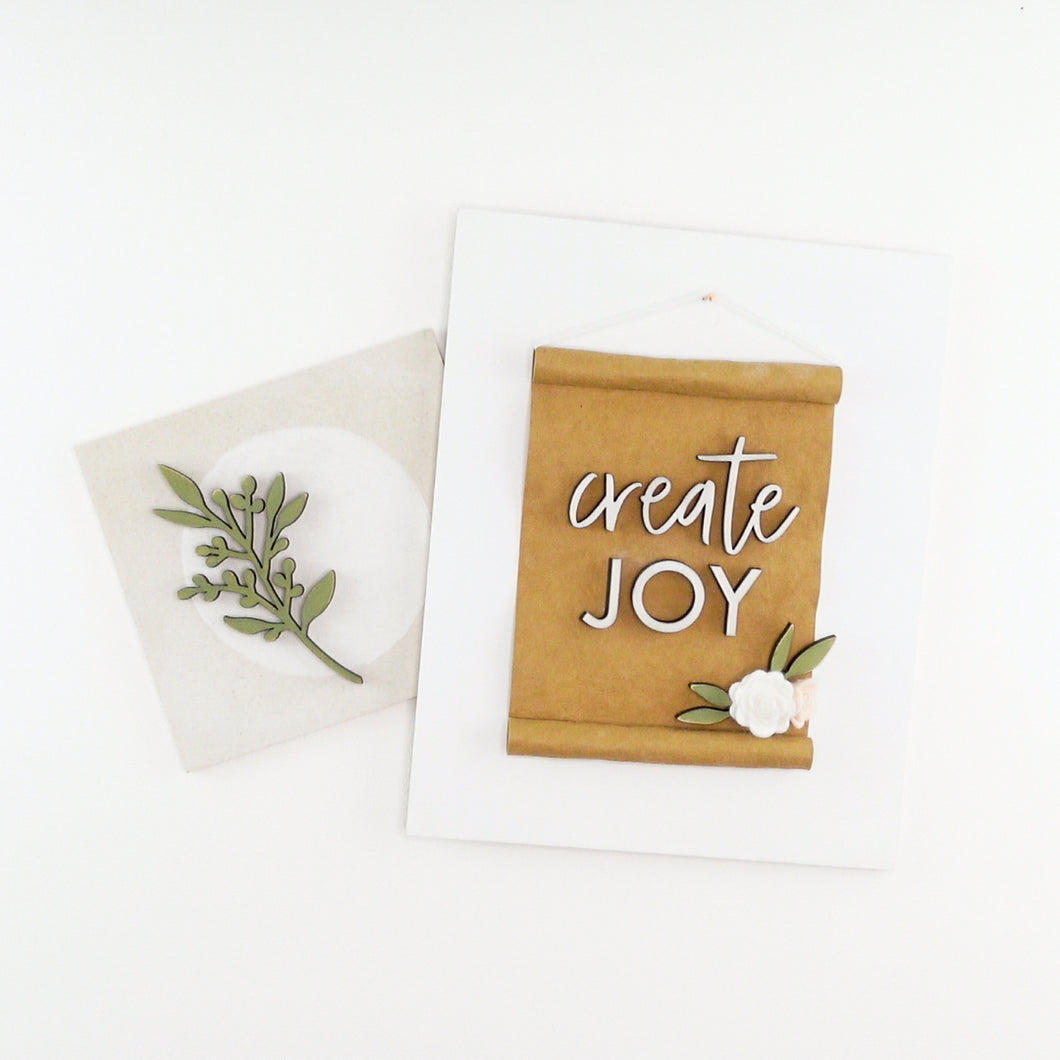 Create Joy Vignette Online Workshop Bundle
