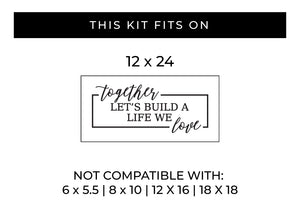Build a Life We Love | Word Kit