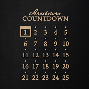 Christmas Countdown | Word Kit