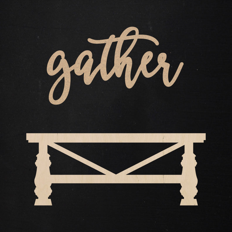 Gather + Table | Word Kit
