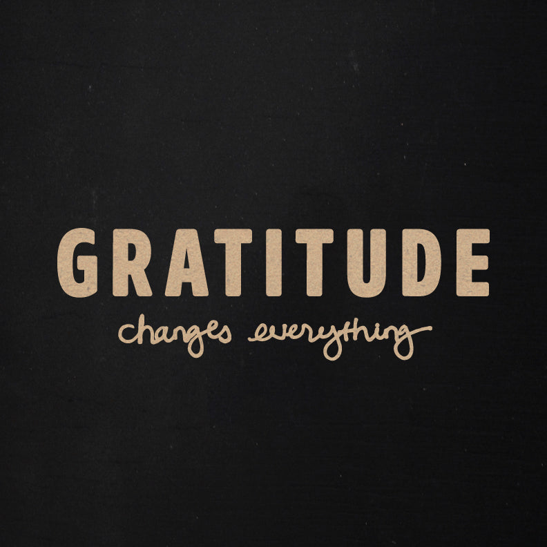 Gratitude Changes Everything | Word Kit | Becky Higgins Collaboration