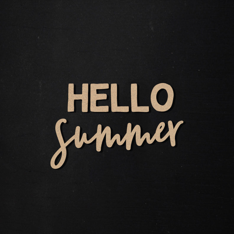 Hello Summer | Word Kit