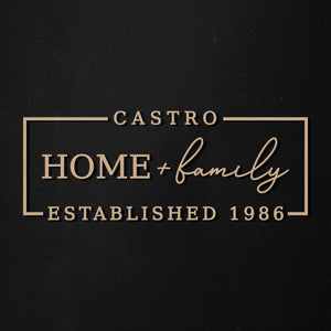 Home & Family | Customizable | Word Kit