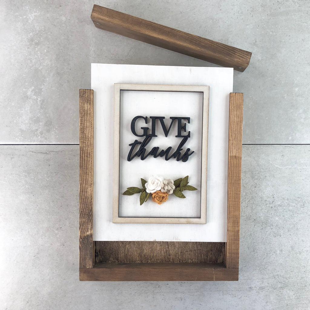 Give Thanks | DIY Project Kit | Size B