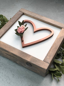Heart Wreath | DIY Insert Kit | Size A