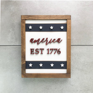 Established 1776 | DIY Project Kit | Size B