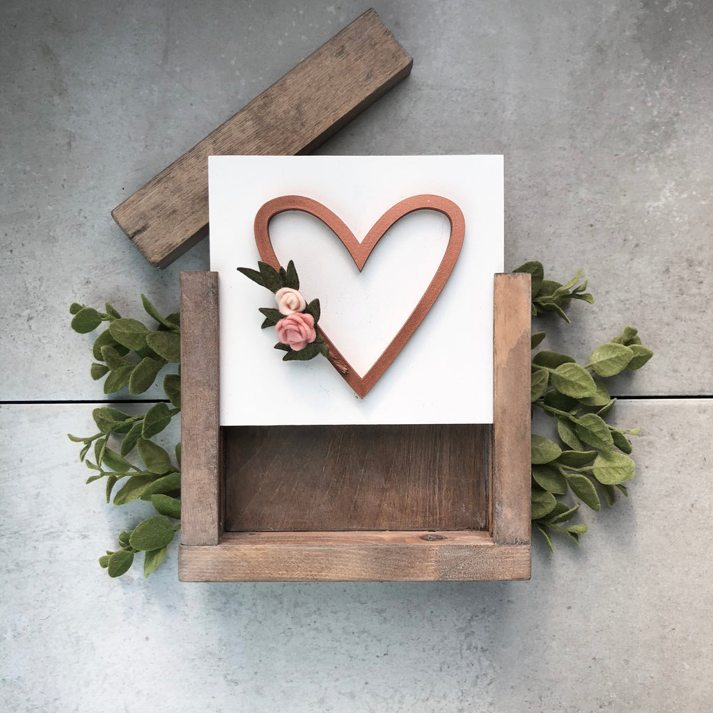 Heart Wreath | DIY Project Kit | Size A