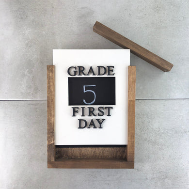 First Day + Last Day | LIMITED EDITION | DIY Insert Kit | Size B