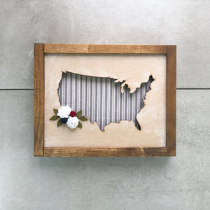 Floral USA | DIY Insert Kit | Size B