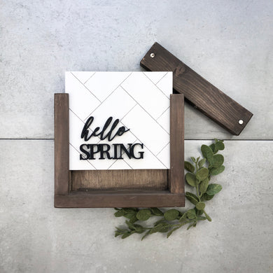 Hello Spring | DIY Insert Kit | Size A