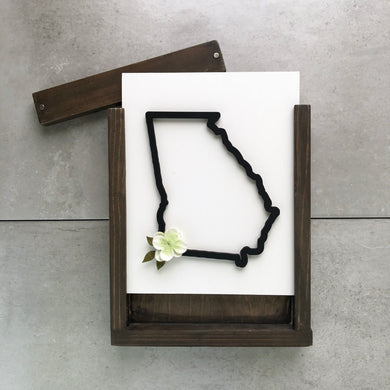 State Outline | DIY Insert Kit | Size B