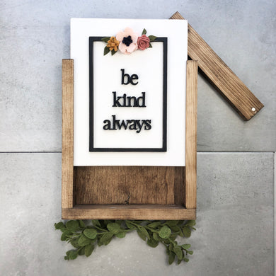 Be Kind Always | DIY Insert Kit | Size B