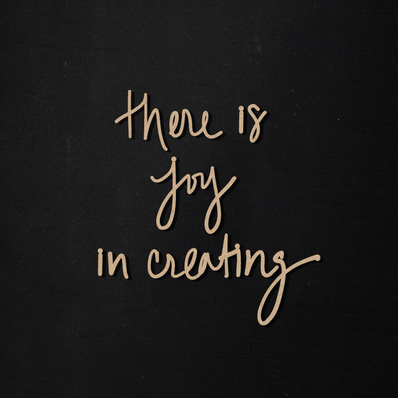 Joy in Creating | Word Kit
