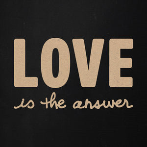 Love is the Answer | Word Kit | Becky Higgins Collaboration