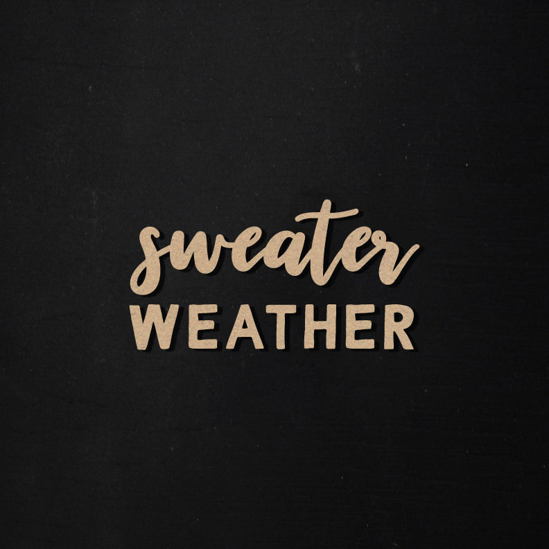 Sweater Weather | Word Kit