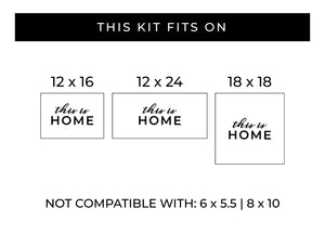 This Is Home | Word Kit