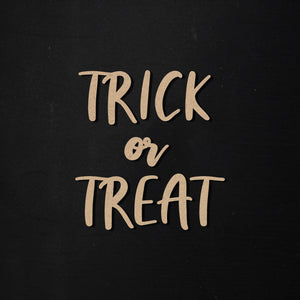 Trick or Treat | Word Kit