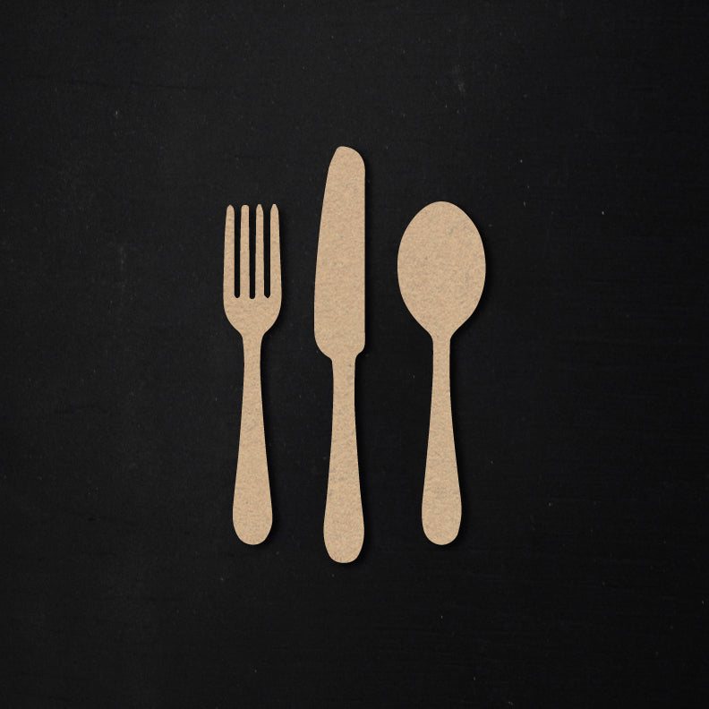 Fork + Knife + Spoon | Bits & Pieces