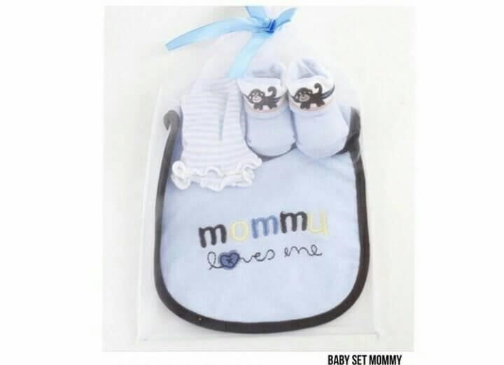 Baby Set Mommy Lovers Me