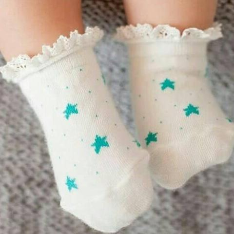 Kaos kaki Star Green