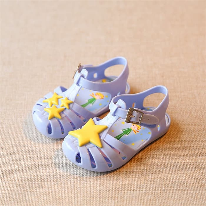 STAR JELLY SHOES BLUE