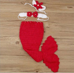 COSTUME MERMAID RED