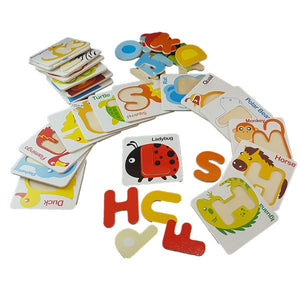 Education Wooden Card