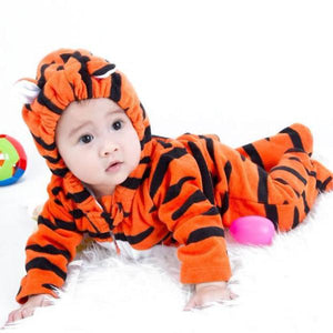 baby costume tiger