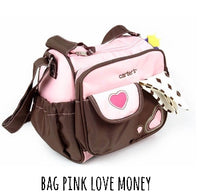 BAG PINK LOVE MONEY