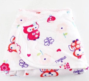 BEDONG INSTAN FLEECE WHITE ANIMAL