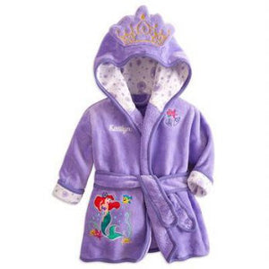 BATHROBE purple mermaid