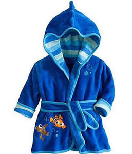 BATHROBE blue clownfish