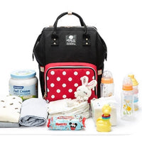 FASHION NAPPY BAG - POLKADOT