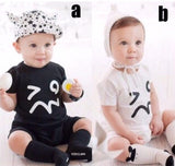 ROMPER INFANT WHITE