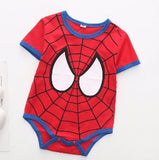 JUMPSUIT SUPERHERO SPIDERMAN
