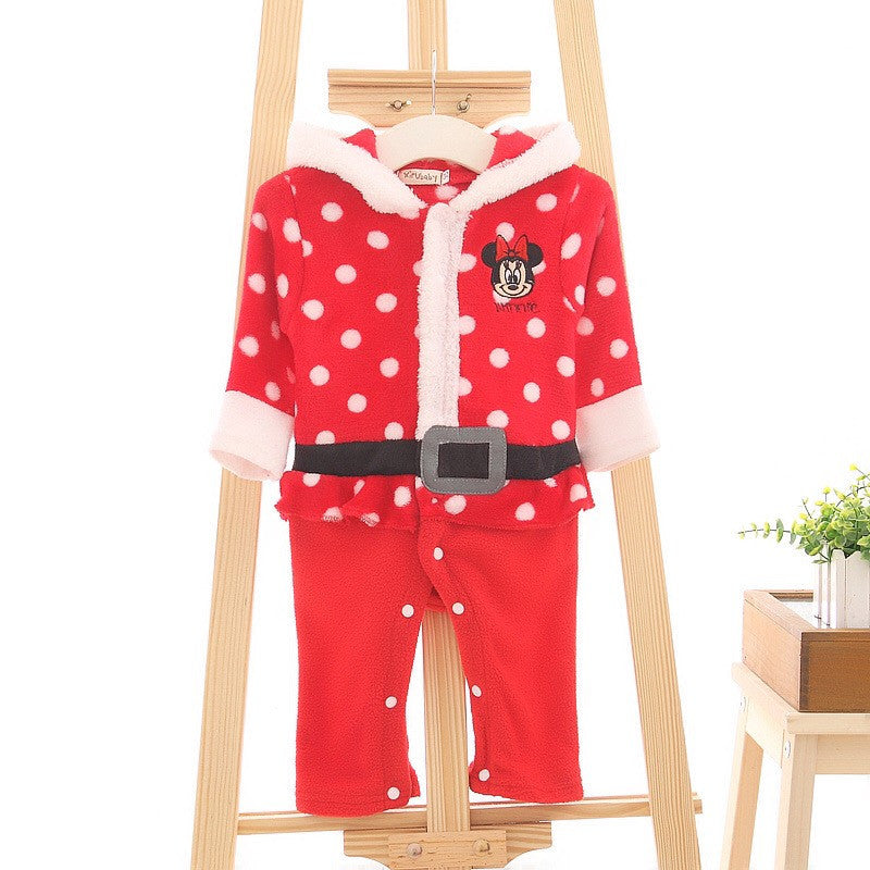 Jumpsuit Santa Minnie