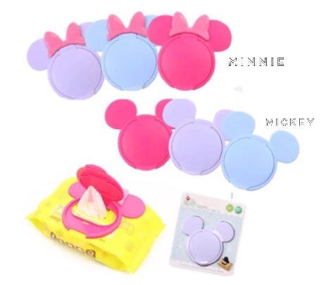 TEMPAT TUTUP TISU ( MICKEY & MINNIE WIPES COVER )