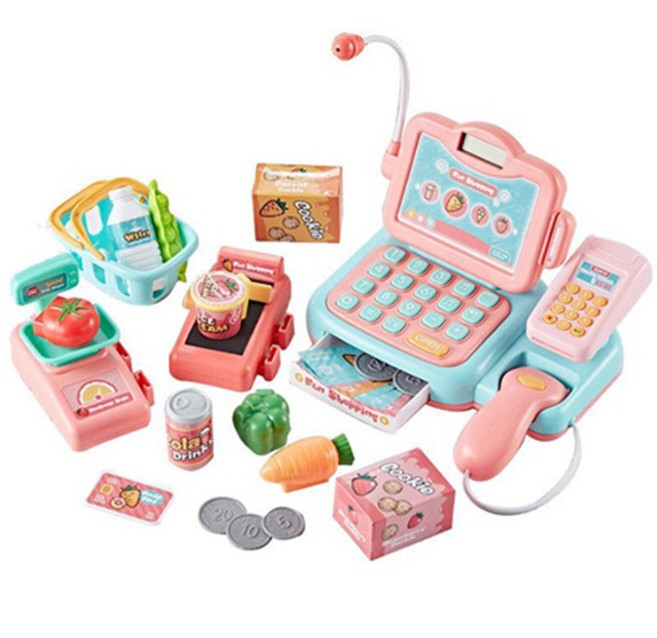 PLAY HOUSE CASH REGISTER