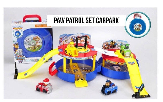 PAW PATROL SET CARPARK
