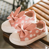 RIBBON POLKADOT SHOES