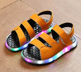 SANDAL THREE STRIPE LED